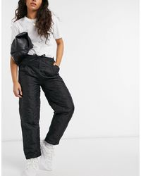 Native Youth Relaxed Trousers - Black