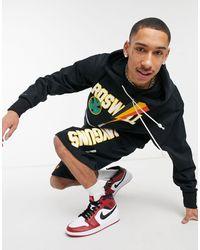Nike Basketball – Raygun – Kapuzenpullover - Schwarz