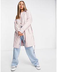 Nike Текстильный Тренч Светло-розового Цвета -розовый Цвет