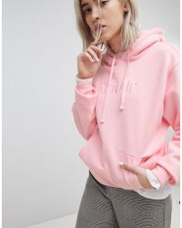 RIPNDIP - Ripndip Oversized Hoodie With Embroidered Logo Front - Lyst