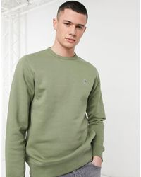 Original Penguin – T-Shirt mit Logo - Grün
