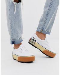 Vans Era Stacked White Sneakers