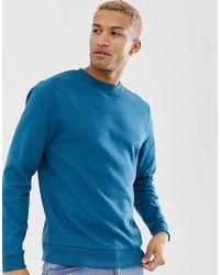 ASOS Organic Sweatshirt - Blue