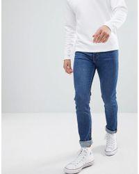 Weekday Friday Peralta Blue Skinny Jeans