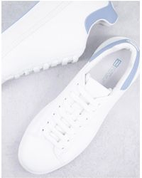 River Island Wedged Trainer - White