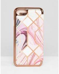 Ted Baker - Sea Of Clouds Iphone 8 Case - Lyst