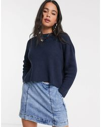 Monki Lene Sweater - Blue