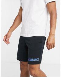 New Balance Speed Logo Shorts - Black