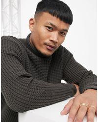Pull&Bear Roll Neck Sweater - Multicolor