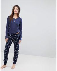 Esprit - Stars Pyjama Set - Lyst
