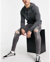 ASOS Spray-on Jeans Met Powerstretch - Zwart