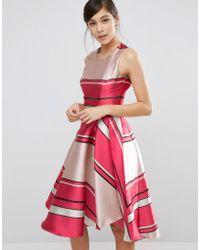 Coast - Bay Shore Stripe Dress - Lyst