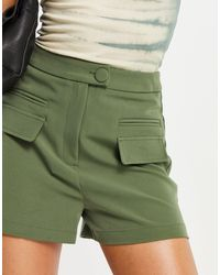 4th & Reckless Co-ord Shorts - Green
