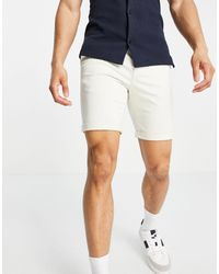 New Look Chino Short - White
