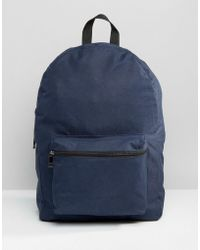 New Look   Backpack In Navy   Lyst