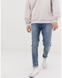 ASOS Jeans skinny lavaggio medio - Blu