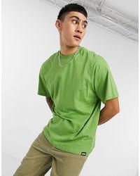 Pull&Bear T-shirt oversize verde