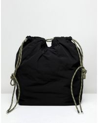 Weekday Toggle Tote Bag - Black