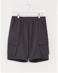 ASOS Slim Cargo Shorts - Black