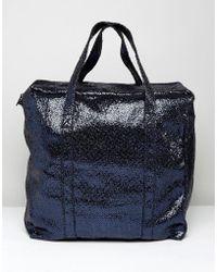Bershka - Glitter Tote Bag - Lyst