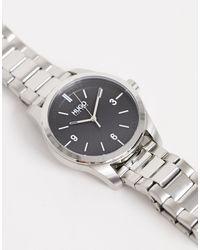 HUGO Серебристые Наручные Часы 1530016 Create-серебряный - Металлик