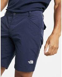 The North Face Pantalones cortos chinos azul marino
