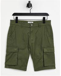 Only & Sons Pantaloncini cargo kaki - Verde
