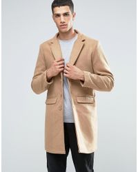 Another Influence - Wool Blend Overcoat - Lyst