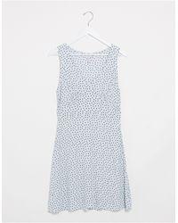 Pieces Jersey Bodycon Dress - Blue