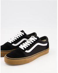 Vans Old Skool - Sneakers Met Gomzool - Zwart