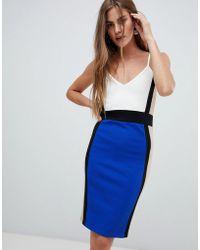 New Look - Strappy Midi Dress - Lyst