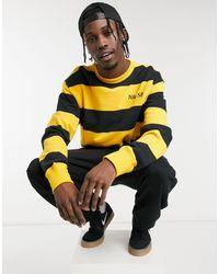 Nike – Sweatshirt - Gelb