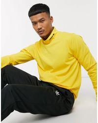 adidas Originals Желтая Водолазка С Логотипом -желтый