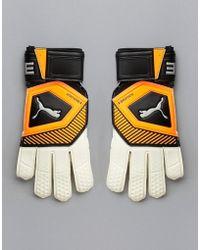 PUMA - Goal Keeping 041475-01 - Guanti arancioni - Lyst