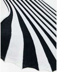 Lipsy Платье-футляр «2-в-1» В Полоску -черный Цвет