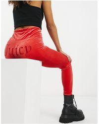 Juicy Couture Leggings - Rosso