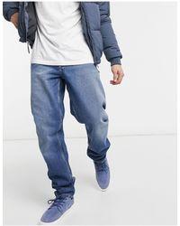 ASOS Circular Rigid Slim Jeans - Blue