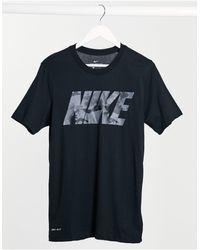 Nike – T-Shirt - Schwarz
