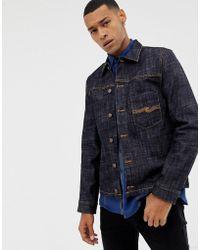 Nudie Jeans - Co Ronny Worker Denim Jacket - Lyst