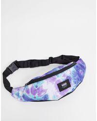 Vans Mini Ward Cross Tie Dye Bum Bag - Purple
