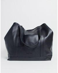 Claudia Canova Oversized Tote Bag - Black