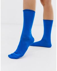 Jonathan Aston Luminosity Socks - Blue
