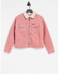 Wrangler Cord Carpenter Jacket - Pink
