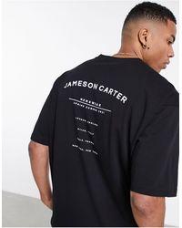 Jameson Carter Taylor Oversize T-shirt - Black
