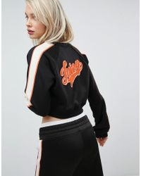 Juicy Couture - Juicy By Retro Cropped Track Jacket - Lyst