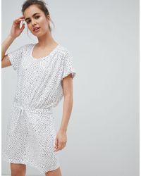 Volcom Vestido blanco