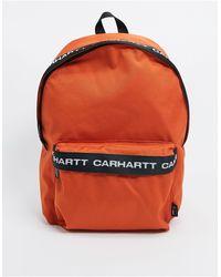 Carhartt WIP Brandon Backpack - Orange