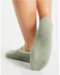 ASOS 4505 Pilate Grip Sock - Green