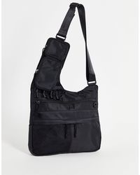 ASOS Cross Body Bag With Modular Clip Off Pouches - Black