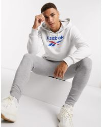 Reebok - Classics Hoodie With Vector Logo - Lyst